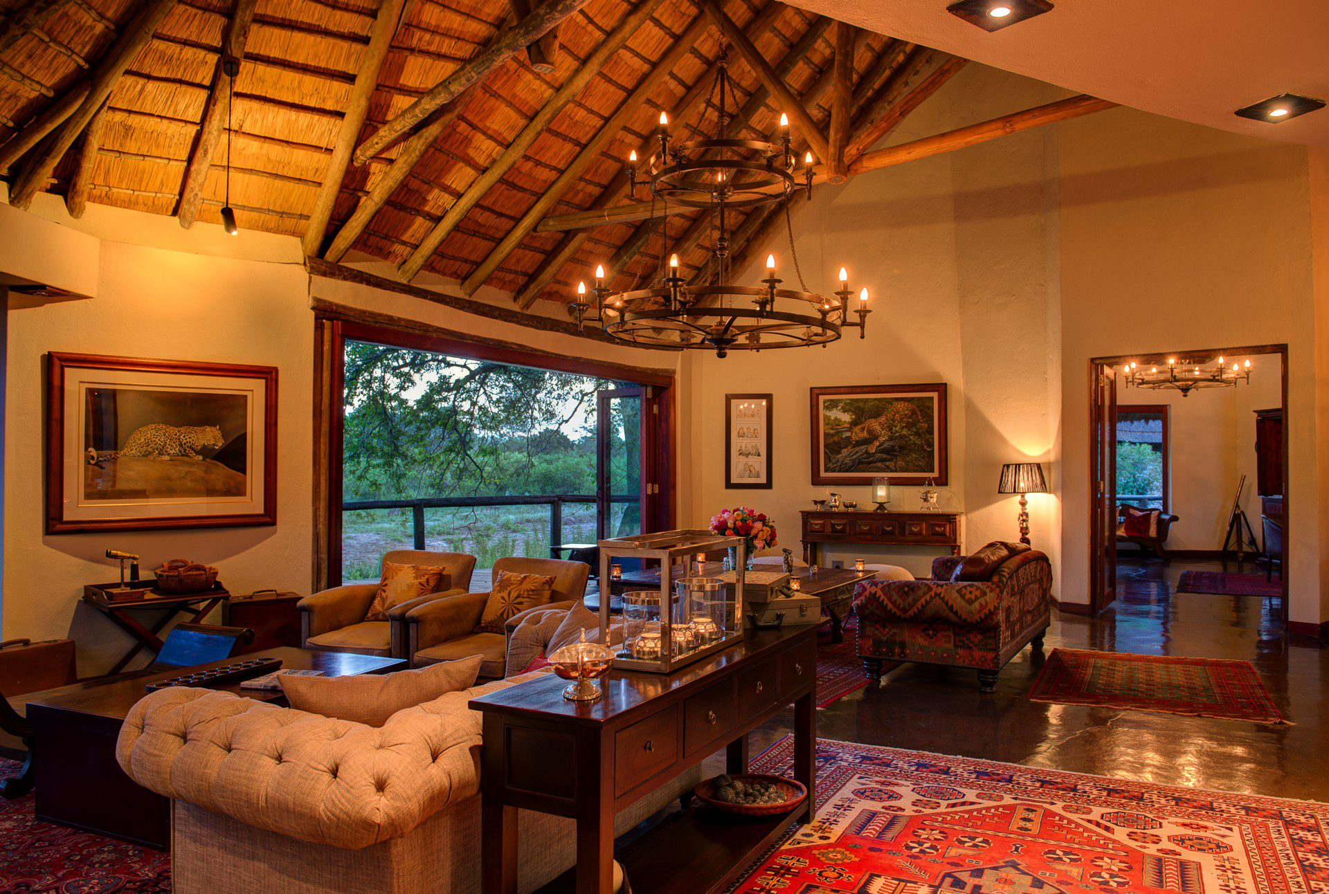 Tintswalo Safari Lodge Luxury Manyeleti Safari Lodge In